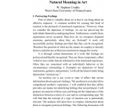 Natural Meaning in Art