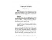 Prolegomena Philosophiae
