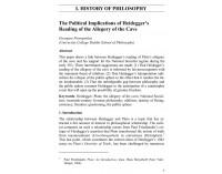 Political Implications of Heidegger's...